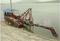 High-power cutter suction sand pumping vessel